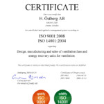 ISO9001:2008,ISO14001:2004